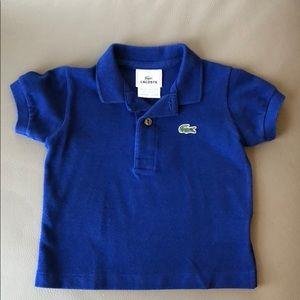 Lacoste Blue Polo Shirt Size 1